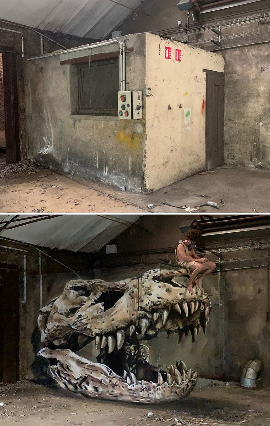 Bu Fransız Sokak Sanatçısının Grafiti Hayatta Kalıyor ve Duvarlardan Çıkıyor