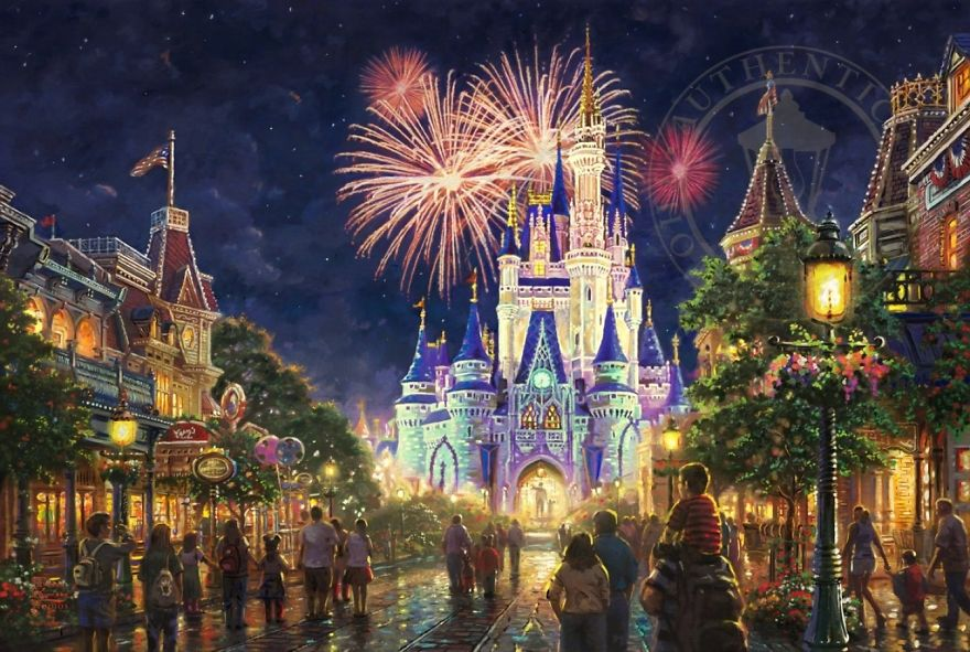 Main Street, U.s.a. Walt Disney World Resort