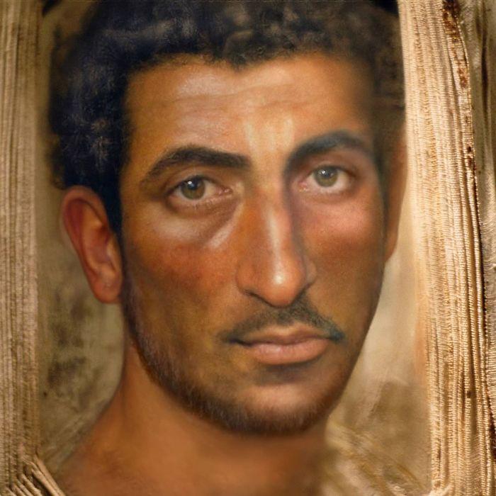 Retratos de las momias de El Fayum