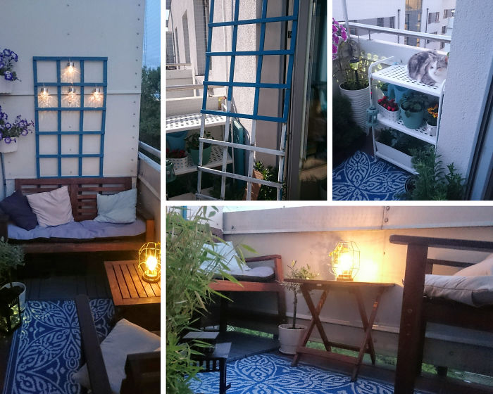 I Fixed Up My Little Balcony Haven