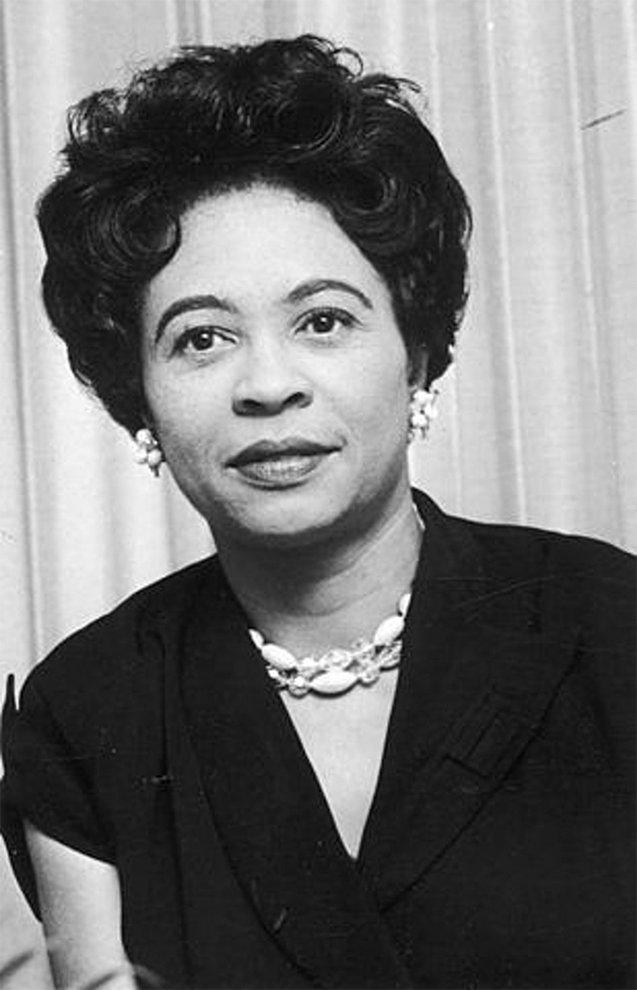 Daisy Bates - played a leading role in the Little Rock Integration Crisis of 1957