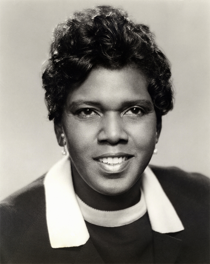 Barbara Jordan - the first African American woman ever elected to the Texas Senate
