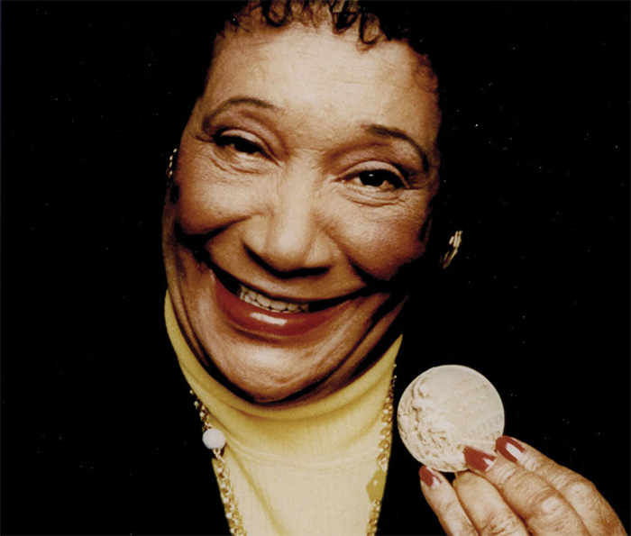 Alice Coachman - the first black woman to ever win an Olympic gold medal