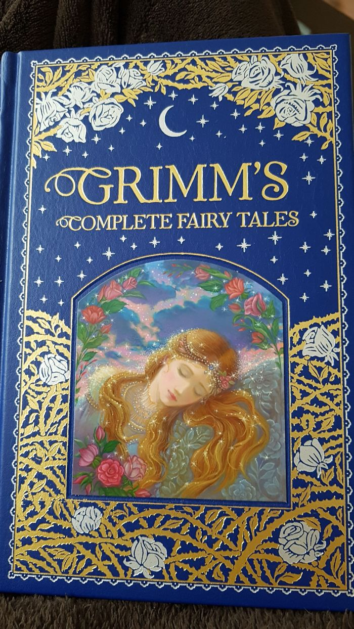 I Started Reading Again! This Book Has All Grimm's Stories In It!