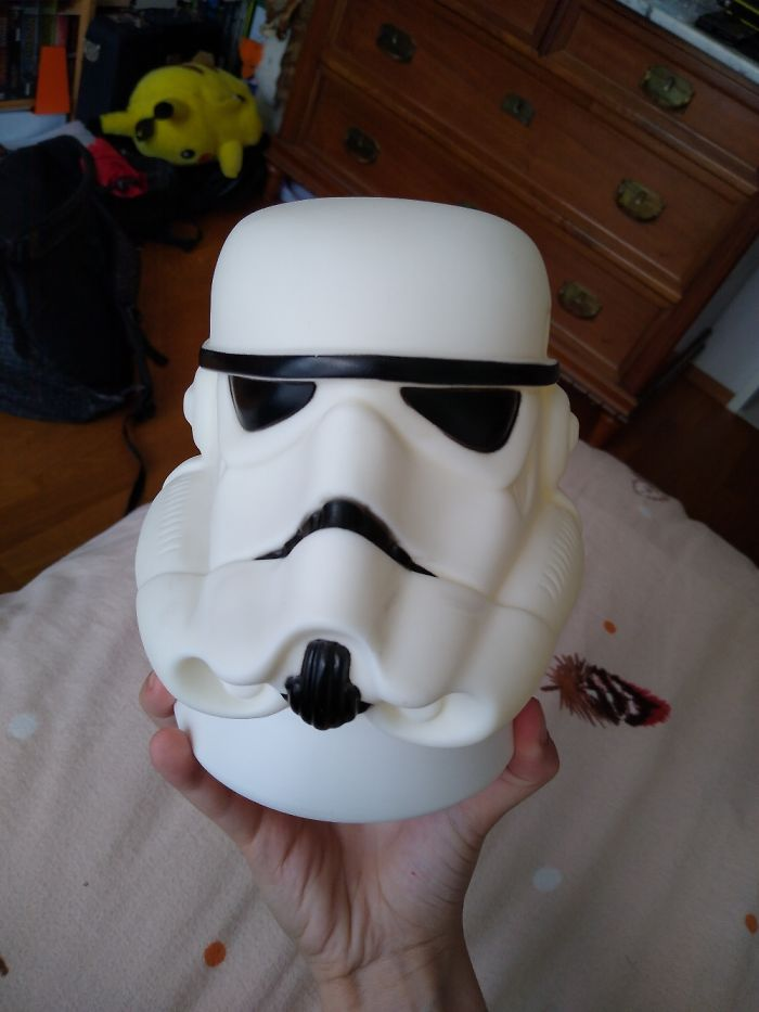 This Strange Storm Trooper Soap Dispenser