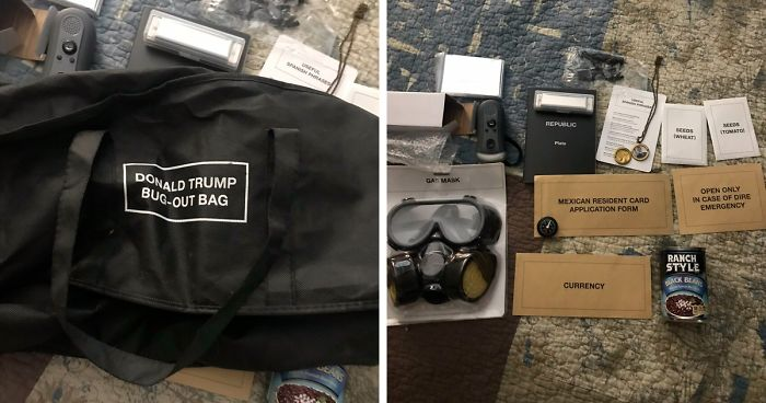 Cards Against Humanity 'Donald Trump Bug-Out Bag' From 2016 Resurfaces And It's More Relevant Than Ever