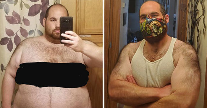 Couple Shares Before-And-After Photos Of Their Amazing Weight Transformation