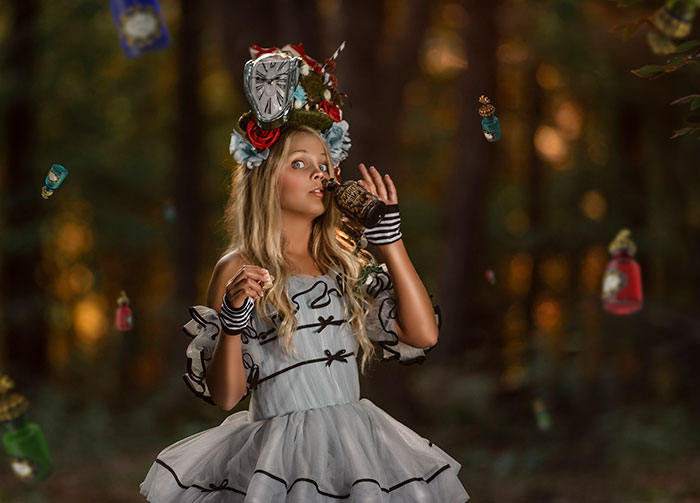 Here Are My 30 Pics Of My Alice In Wonderland Photoshoot Which Took 6 Months To Make
