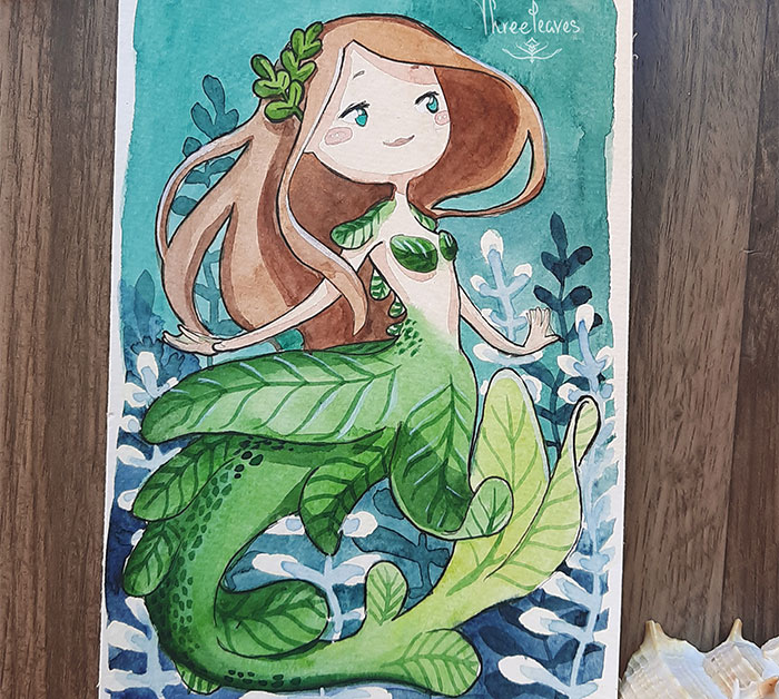 I Participated In A Mermaid Drawing Challenge Throughout May And Tried To Come Up With Different Designs Each Time (31 Pics)