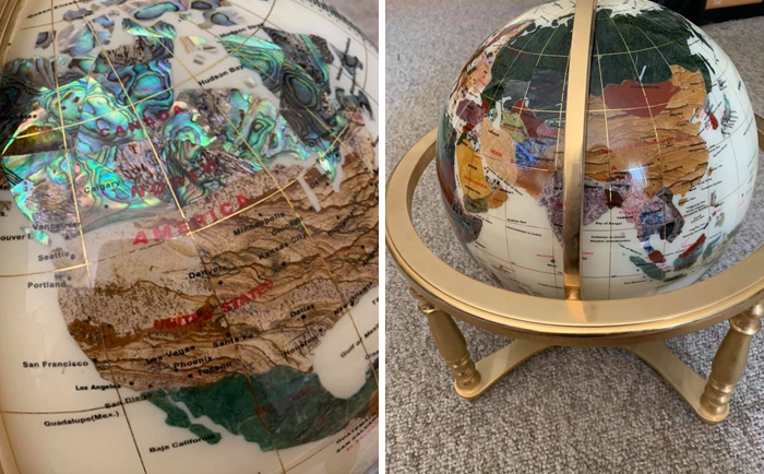 Found A Cool Globe For $25 At Goodwill Today