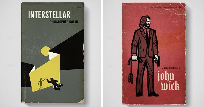 Artist Imagines What His Favorite Movies Would Look Like If They Were Old Books