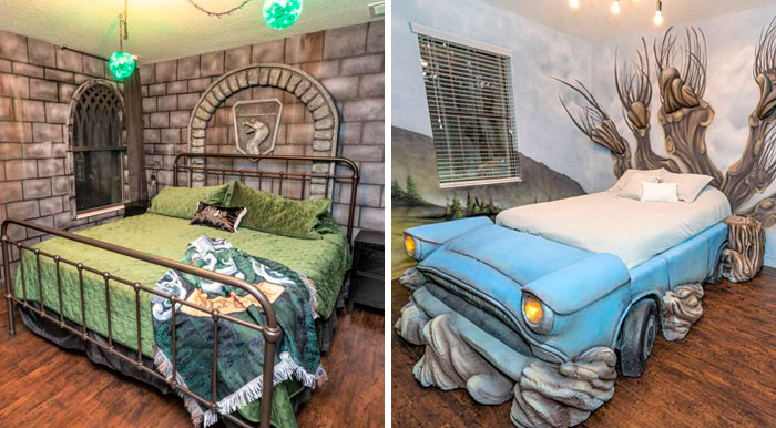 You Can Stay In A Massive Harry Potter Themed House Just 30 Minutes Away From The Wizarding World Of Harry Potter