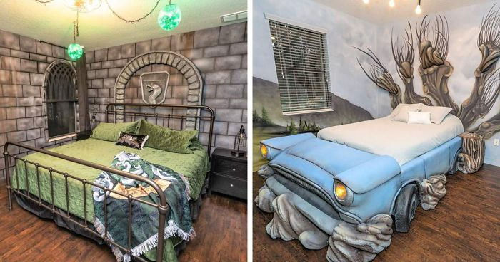 You Can Stay In A Massive Harry Potter Themed House Just 30 Minutes Away From The Wizarding World Of Harry Potter Bored Panda