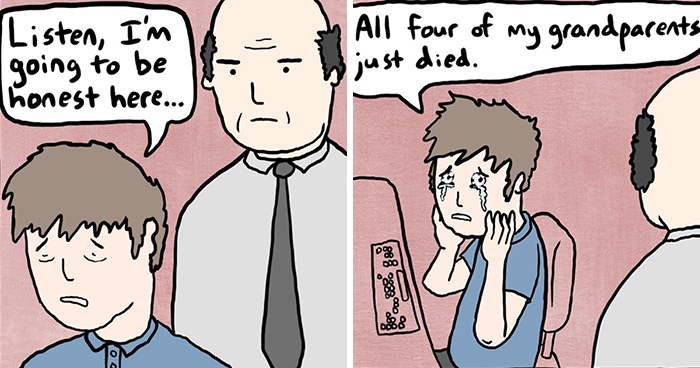 Artist With A Wonderfully Absurd Sense Of Humor Shares His Hilarious Comic Strips (30 Pics)