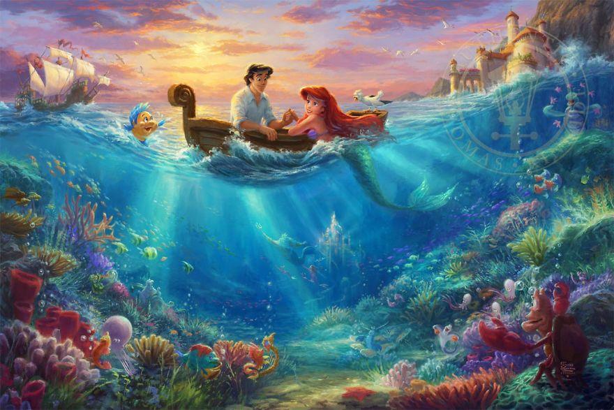 Little Mermaid Falling In Love