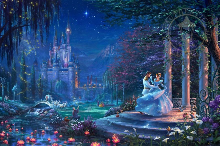 Cinderella Dancing In The Starlight