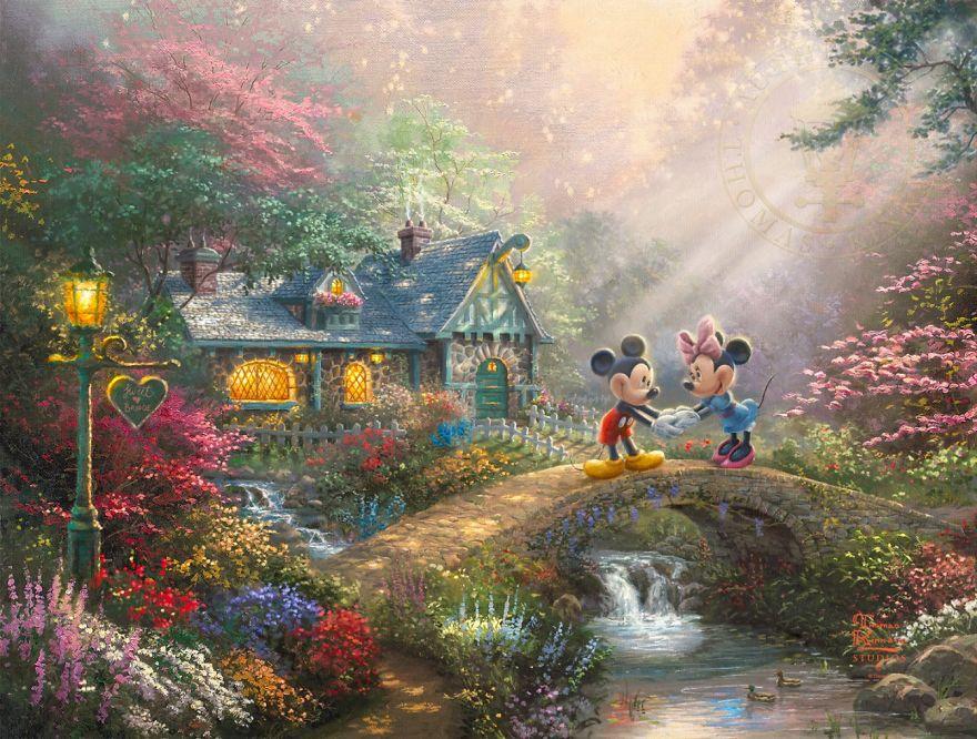 Mickey And Minnie – Sweetheart Bridge