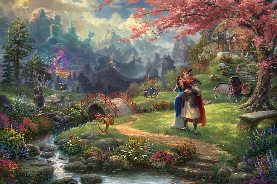 Mulan Blossoms Of Love