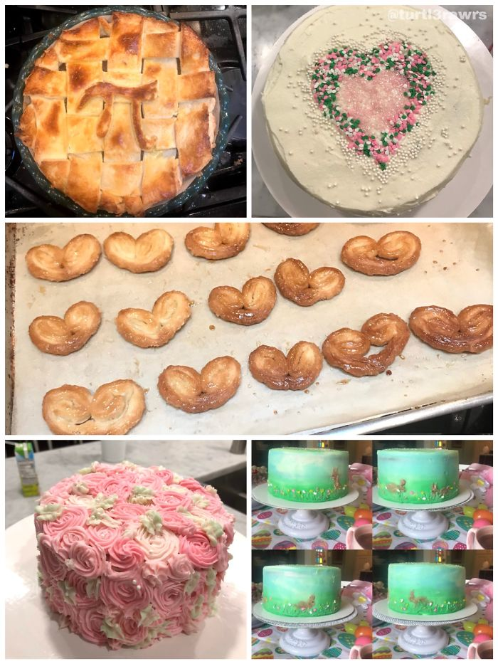 I Was Able To Bake New Things/Work On Decorating