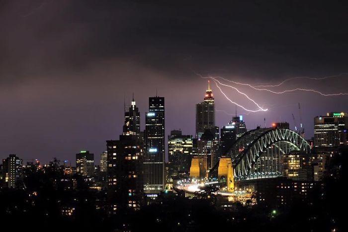 A Stormy Night In Sydney