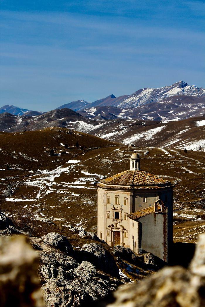 Chiesa Di Santa Maria Della Pietà, Calascio, AQ, Italy