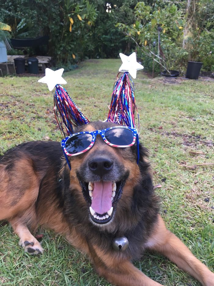 Celebrating His Forth Of July Birthday