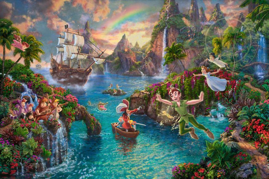 Peter Pan's Never Land