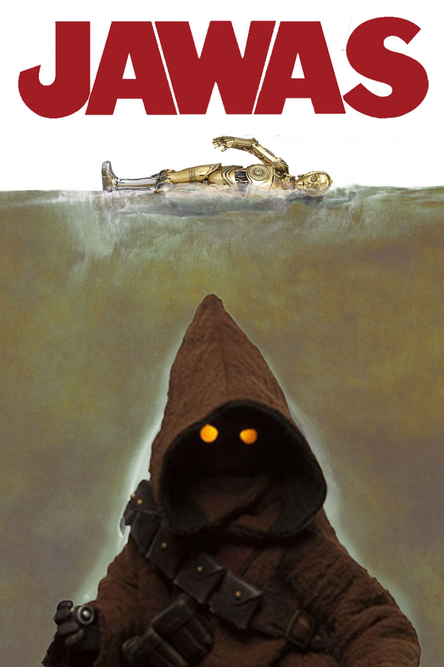 Jaws Meets Star Wars. You're Gonna Need A Bigger Sandcrawler...