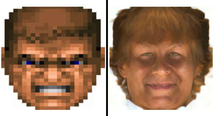 Ai Turns Pixelated Faces Into Real Portraits But Not Without Some