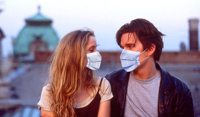 21 Iconic Hollywood Scenes That I Recreated With The Actors Wearing Face Masks