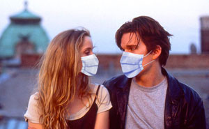 I Recreate Hollywood Couples Using Face Masks In Their Iconic Scenes (21 Pics)