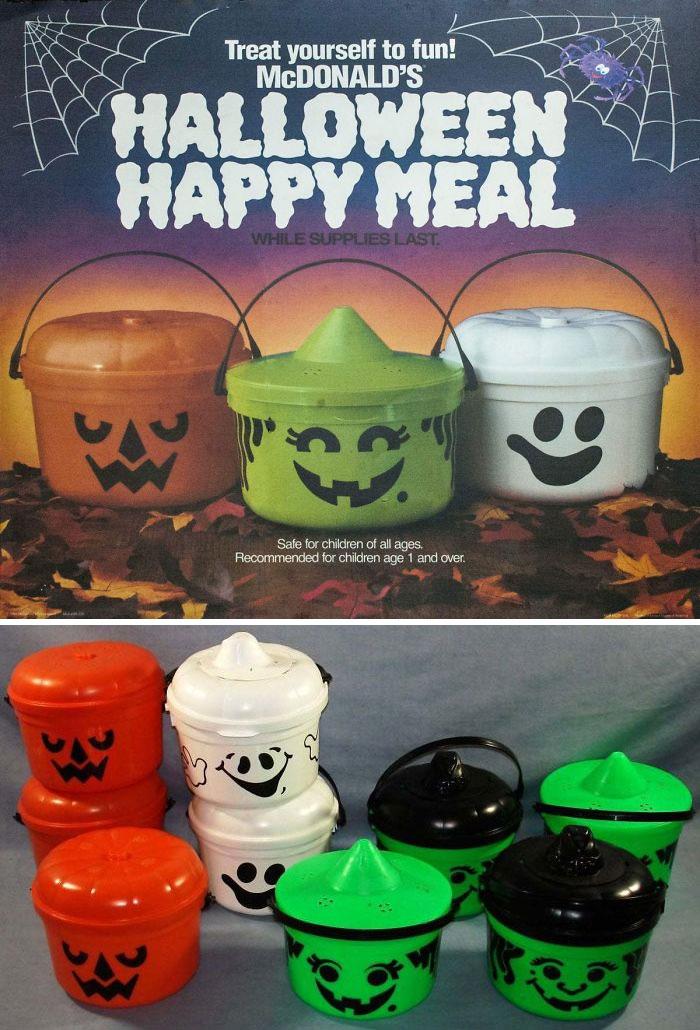 McDonald's Seasonal Happy Meal Buckets