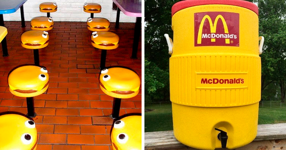 52 Photos Of McDonald's From The '80s And '90s That Might Give You A Wave Of Nostalgia - bored panda