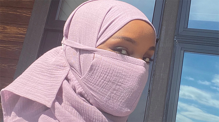 22-Year-Old Model Halima Aden Creates A Line Of Protective Masks For Hijab-Wearers