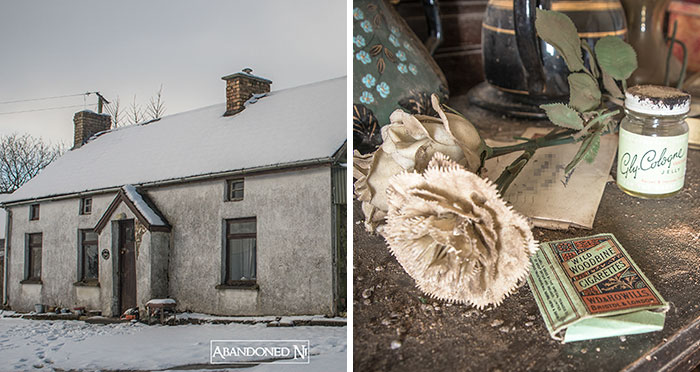 Photographer Explores A Perfectly Preserved 19th Century Cottage, That Even Has A Newspaper Reporting The Titanic Sinking
