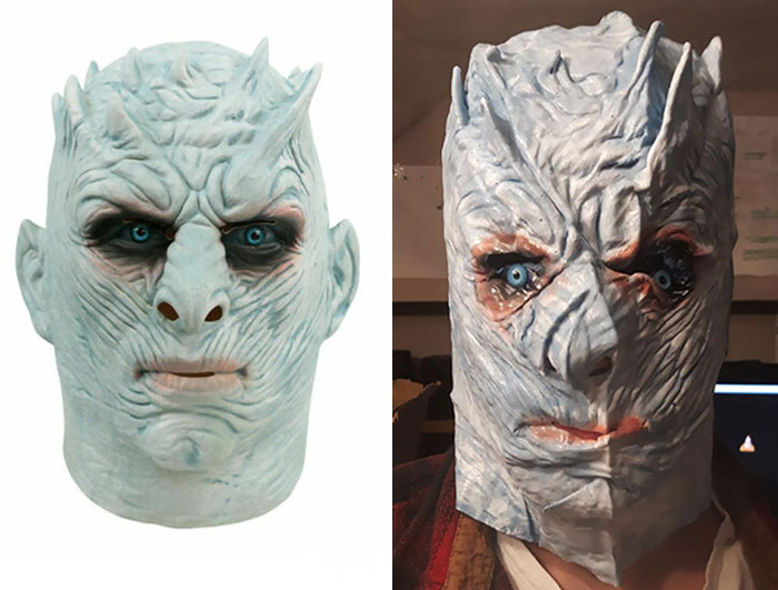 I Bought This Night King Mask On eBay