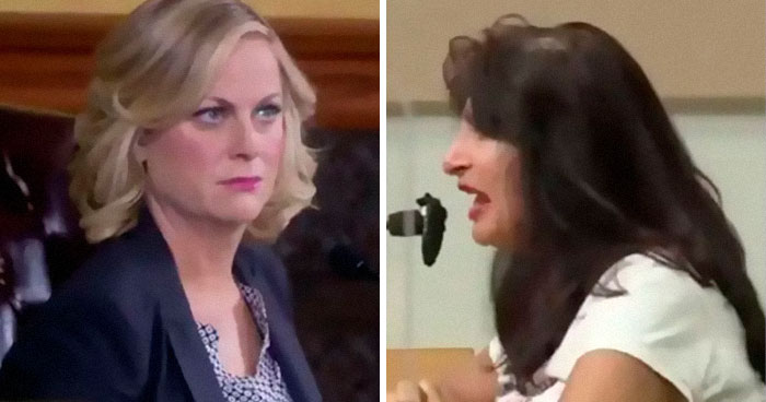 "People Throwing Tantrums About Face Masks Get Edited Into A ""Parks And Rec"" Town Hall Meeting"