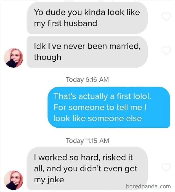I Matched With This Girl On Tinder, And I Immediately Ruined It. I Literally Had To Have What She Said Explained To Me Afterwards