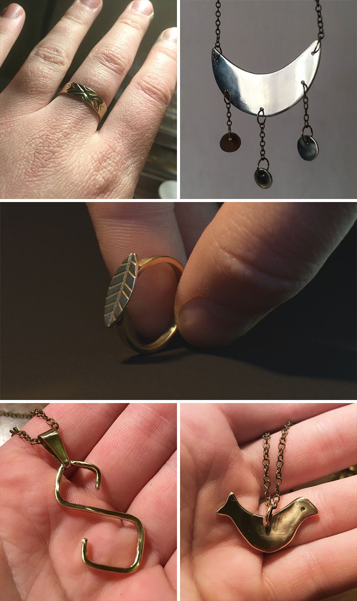 I Finally Had More Time To Work On My Jewelry Project. All Of These Were Made During Quarantine