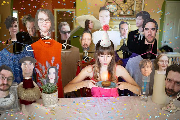 Isolation Made Me Innovative Or Downright Insane, So I Organized My Quarantine Birthday Party (15 Pics)