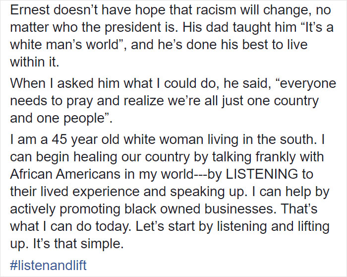 White Woman Asks A Black Man About Racism, Receives The Cold Truth