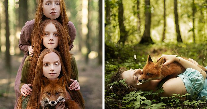 I Photograph Beautiful Redheads With Fiery Foxes (12 New Pics)