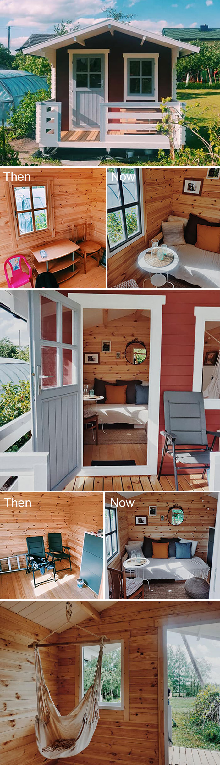 I Decorated My Mom's Garden Tiny House. She Loved It!