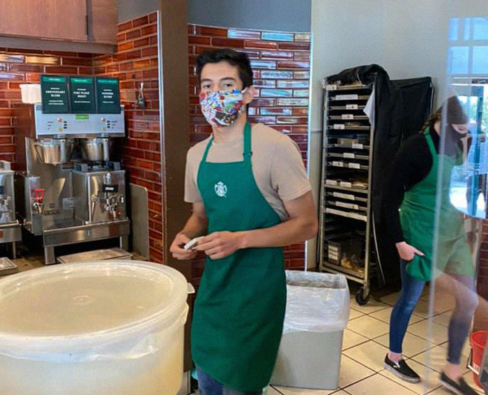'Karen' Attempts To Expose A Barista Who Didn't Serve Her Without A Mask, People 'Tip' Him Over $27,000 Instead