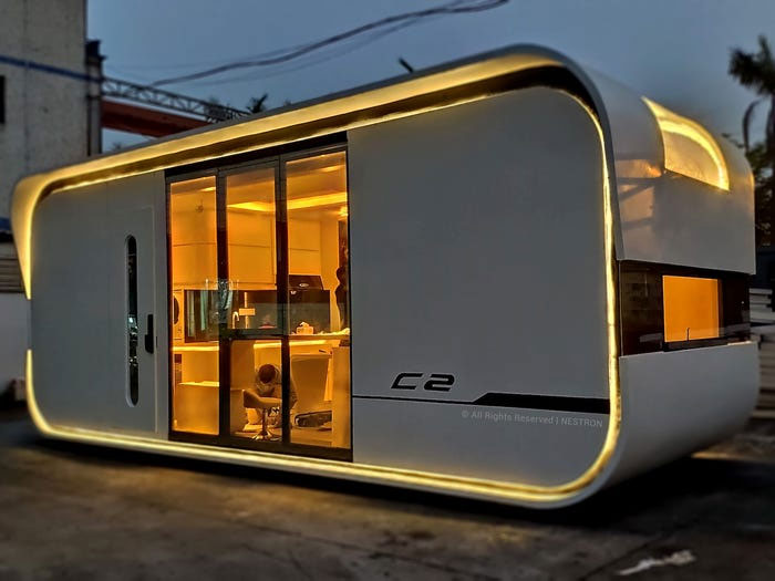 This Tiny $52,000 Home Comfortably Houses 4 People In Just 263 Square Feet