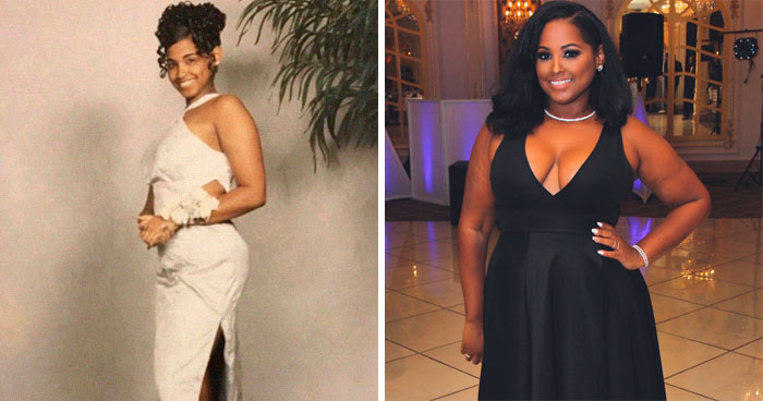 35 Before And After Weight Gain Pics That Women Posted To Celebrate Self-Love