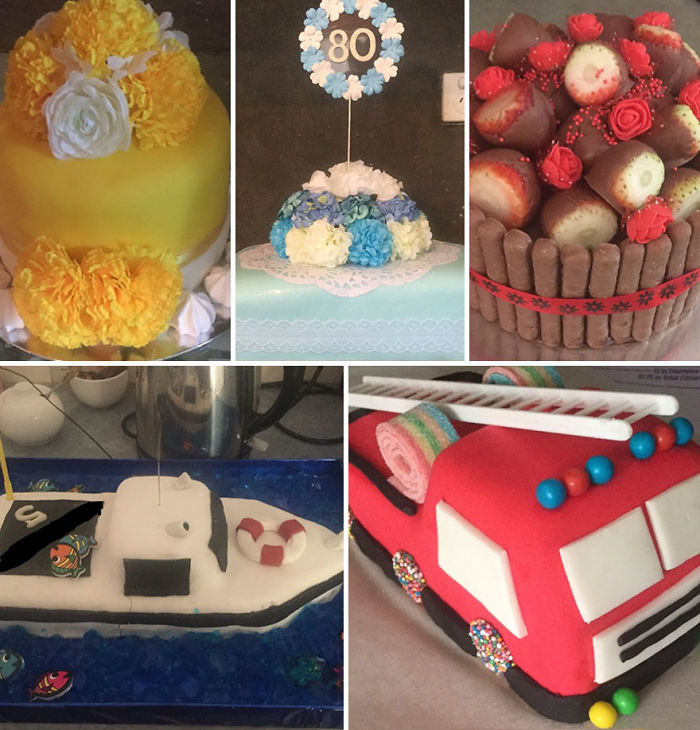 Just Over A Year Ago I Thought I Would Give Cake Decorating A Try. These Are Just Some Of My Creations For My Family's Birthdays
