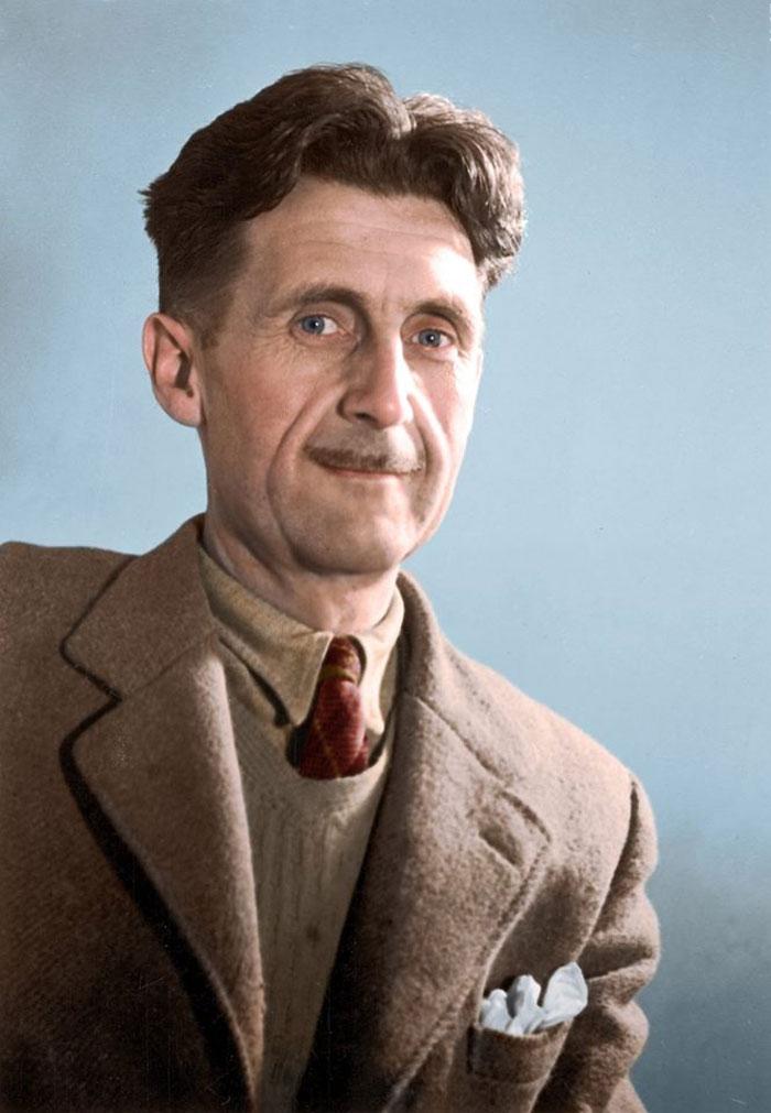 Eric Arthur Blair, más conocido por su pseudónimo como escritor y periodista: George Orwell