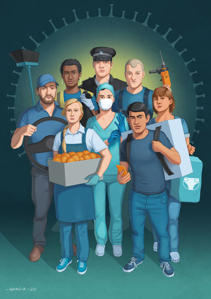 Invisible Heroes (Coronavirus)