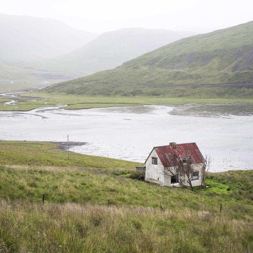 Abandoned House, Westfjords Region, Iceland